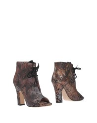 Cavallini Ankle Boots Light Brown