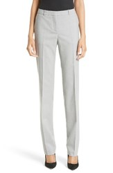 Boss Women's Tamea 1 Straight Leg Stretch Wool Trousers