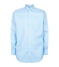 Peter Millar Nanoluxe Check Oxford Shirt Male