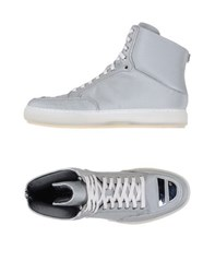 Alejandro Ingelmo Footwear High Tops And Trainers Men Light Grey