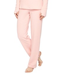 Cosabella Aosta Fleece Straight Leg Pants Rosa Sorbetto