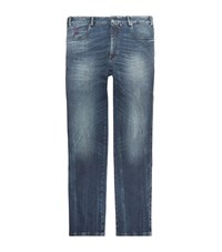 Paul And Shark Red Rivet Mid Wash Jeans Male