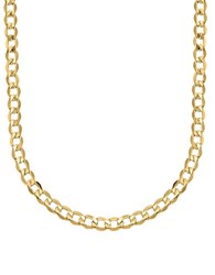 Lord And Taylor 14K Yellow Gold Cuban Chain Link Necklace