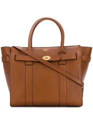 Mulberry Bayswater Tote Bag Brown
