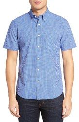 Jack Spade Men's Micro Check Trim Fit Sport Shirt