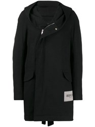 Rick Owens Utility Raincoat Black