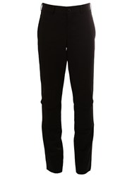 Comme Des Garcons Homme Plus Slim Tailored Trousers Black