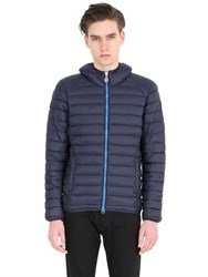 Invicta Hooded Nylon Puffer Jacket