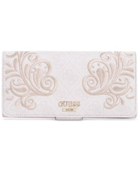 Guess Arianna File Clutch Cement