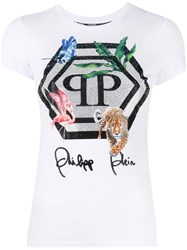Philipp Plein Jungle T Shirt White
