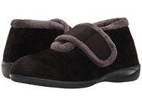 Foamtreads Magdalena Black Women's Slippers