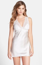 Fleurt Women's Fleur't 'Beautiful Tonight' Silk Charmeuse Chemise