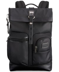 Tumi Men's Luke Roll Top Backpack Reflective Silver