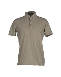 Alpha Studio Topwear Polo Shirts Men Grey