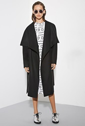 Forever 21 The Fifth Label City Of Sound Coat Black