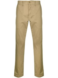 Carhartt Slim Fit Chinos Nude And Neutrals
