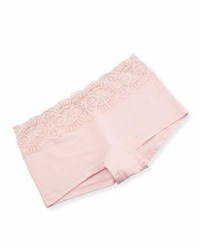 Cosabella Sonia Solid Boyshorts Pink Lilly