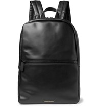 Common Projects Leather Backpack Black