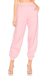 Lovers Friends Charlie Jogger Pant Pink