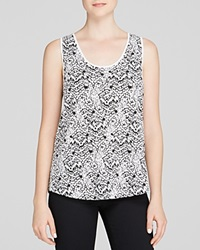 French Connection Tank Mini Leopard Moth Summer White Multi