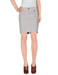 Roy Rogers Roy Roger's Choice Mini Skirts Light Grey