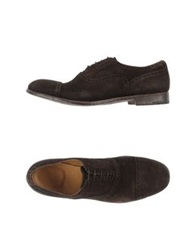 Alberto Fasciani Lace Up Shoes Dark Brown