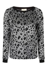 Wildside Animal Print Jumper By Goldie Grey