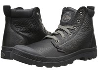 Palladium Pampa Hi Cuff Lea Black Metal Men's Boots