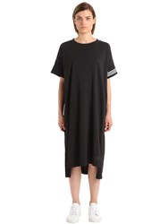 Y 3 Oversized Cotton Printed Dress