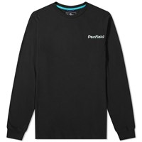 Penfield Long Sleeve Dedham Tee Black