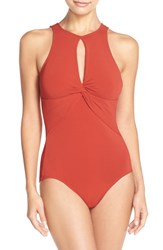Women's Robin Piccone 'Ava' Keyhole One Piece Swimsuit