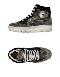 D'acquasparta High Tops And Trainers Military Green