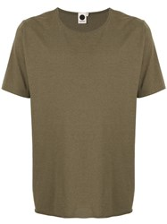 Bassike Classic Crew Neck T Shirt Green