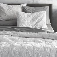 Cb2 Prisma White King Quilt