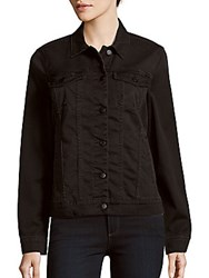 Joe's Jeans Anita Cotton Blend Solid Jacket Black