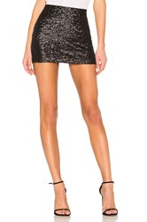 Bailey 44 Dancing Queen Sequin Skirt Black