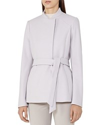 Reiss Franklin Belted Coat Cloud