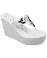 Fergie Easter Wedge Thong Sandals Women's Shoes