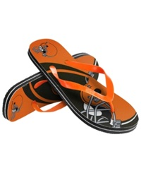 Forever Collectibles Cleveland Browns Thong Sandals