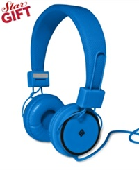Polaroid Foldable Travel Headphones Blue