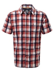 Tog 24 Avon Ii Check Short Sleeve Shirt Red