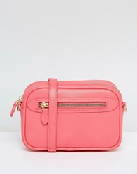 Warehouse Rectangular Cross Body Bag Pink