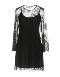 Biancoghiaccio Short Dresses Black