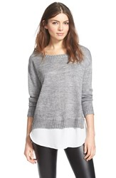 Women's Astr Boatneck Layered Sweater