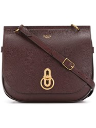 Mulberry Amberley Satchel Red