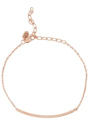 Maria Black Sanae Rose Gold Plated Bracelet
