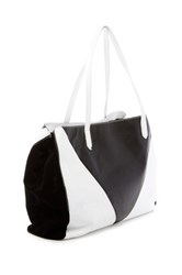 Sondra Roberts Nappa Leather Shoulder Bag White