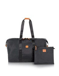 Bric's X Bag Large Foldable Last Minute Holdall In A Pouch Black