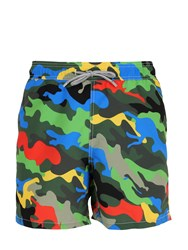 Mc2 Saint Barth Gustavia Colormetic Camo Swim Shorts