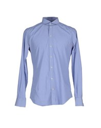 Dandg Shirts Shirts Men Sky Blue